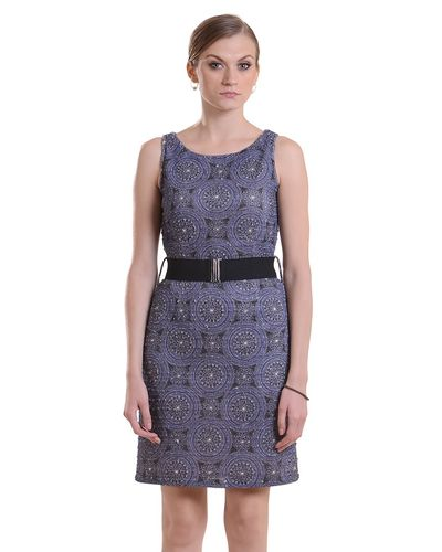 Graphite Knitted Sleeveless Dress