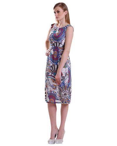 Jacobean Cyan Dress