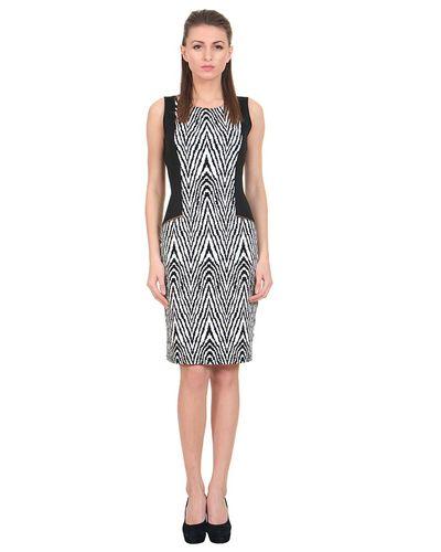 Zig-Zag Print Short Dress