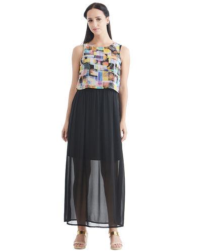 Digi Print Maxi Dress