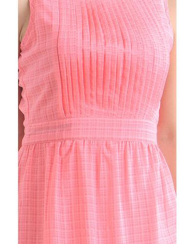 Rogue Checkered Hi-Low Dress