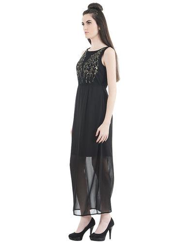 Noir Sequin Dress