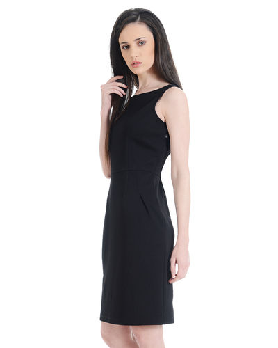 Noir Shift Dress