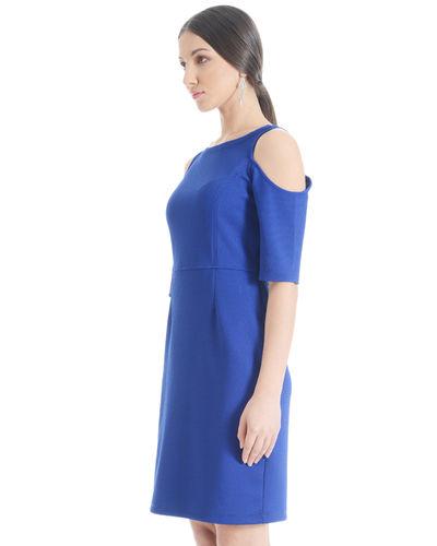 Blizzard Blue cold Shoulder Dress