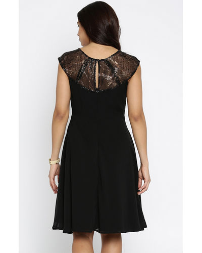 Noir Skater Dress
