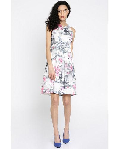 Delicate Pink Floral Dress