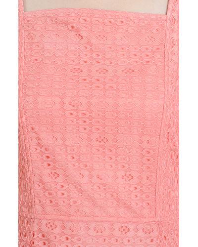 Pearl Pink Asymmetric Dress