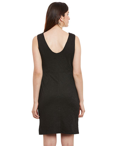 Noir Shift Dress