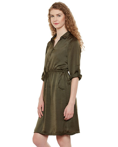 Olivine Short Dress