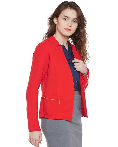 Red Formal Coat