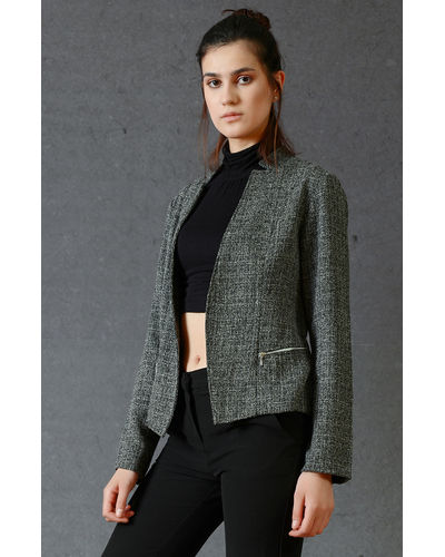 Charcoal Grey Formal Jacket
