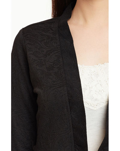 Noir Crop Shrug