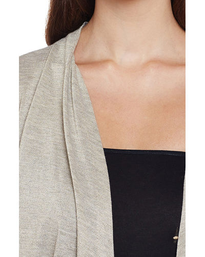 Smoke Grey Shrug