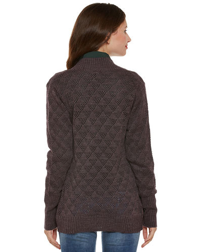Aborgine Full Sleeves Shrug