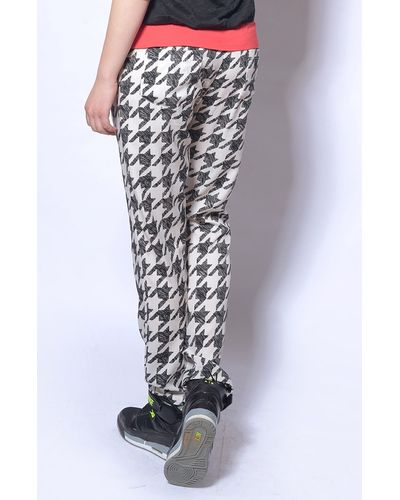 Monochrome Fitted Pants