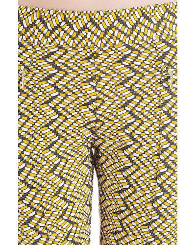 Lycra Skinny Sun Printed Pants