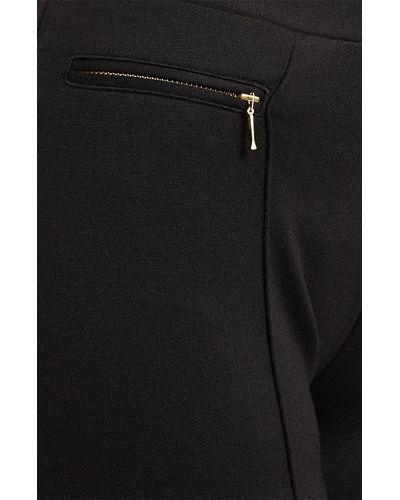 Noir Zipper Leggings