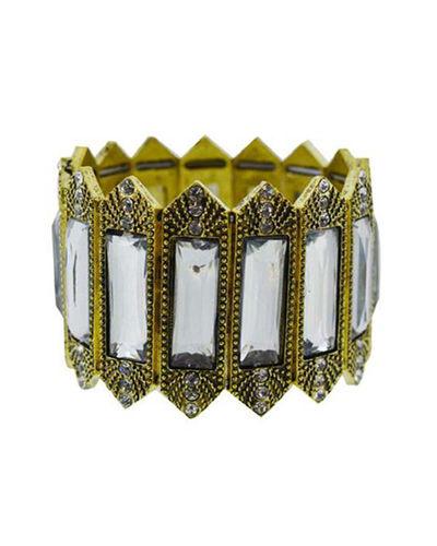 Gold Toned & White Bracelet