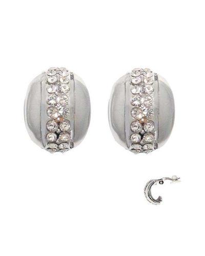Silver Toned Earrings