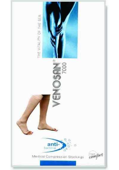 Venosan 7000 Series Class II Knee Length (AD) (Cotton With SeaCell)