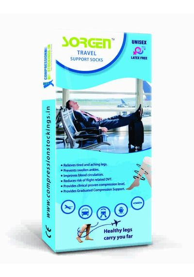 Sorgen Travel Support Socks