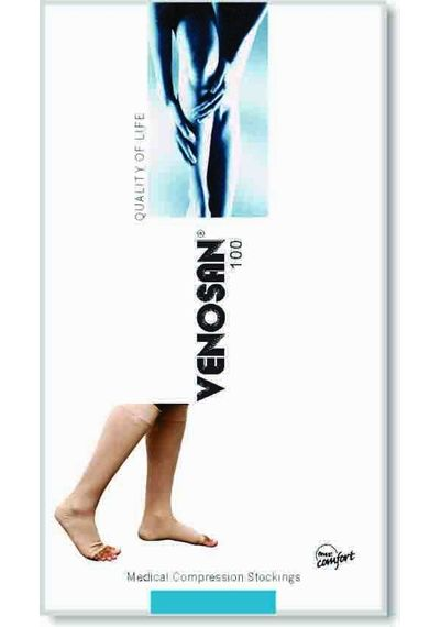 Venosan Class II Knee Length Stockings (AD) (Cotton)