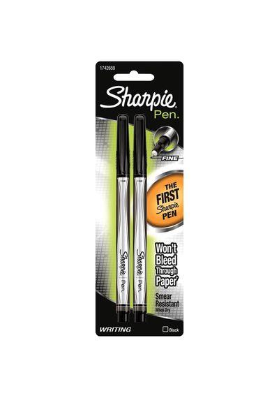Black Sharpie Fine Point Writing Pens 2/Pkg