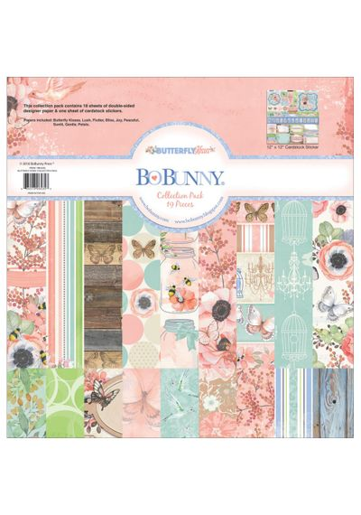 "Butterfly Kisses Collection Pack 12""x12"""