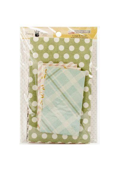 Happy-Go-Lucky Patterned Envelopes 6/Pkg