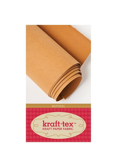 "Natural - Kraft-Tex Kraft Paper Fabric 18""X54"""