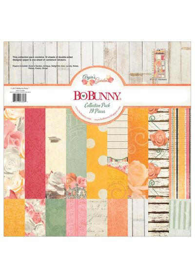 """Aryia's Garden Collection Pack 12""""X12"""""""