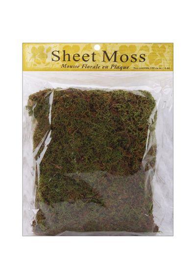 Natural-Spanish Sheet Moss 3oz