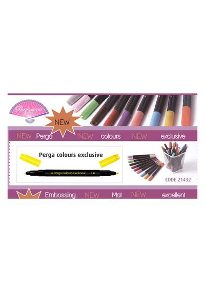 Pergamano Perga Color marker set