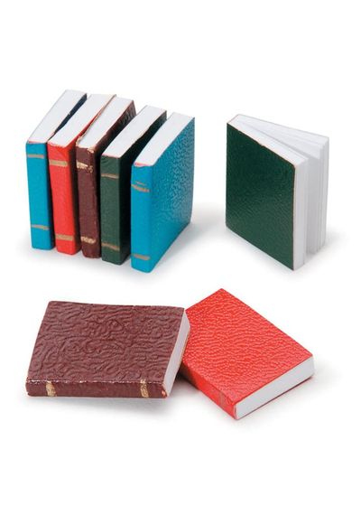 Books 8/Pkg - Miniature