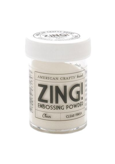 Zing! Clear Embossing Powder 1 Ounce