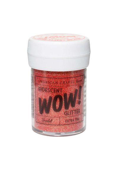 Scarlet - Wow! Iridescent Glitter