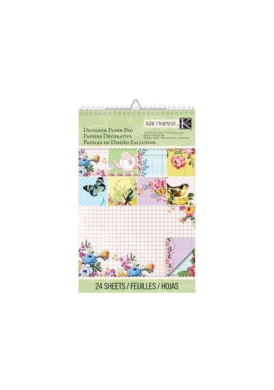 Bloomscape Collection - Ledger Designer Paper Pad