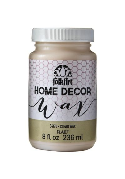 Clear - FolkArt Home Decor Wax Sealer 8oz