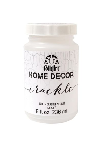 FolkArt Home Decor Crackle Medium 8oz