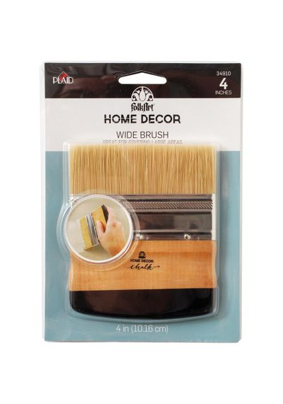 "FolkArt Home Decor Wide 4"" Brush"