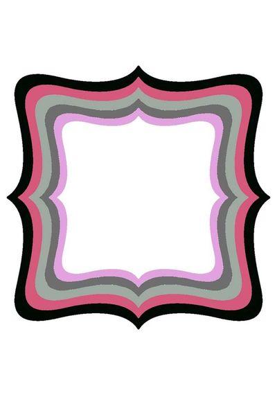 XXL Square Frame Frilly #4