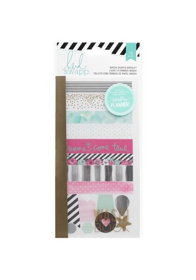 Washi Shapes Booklet