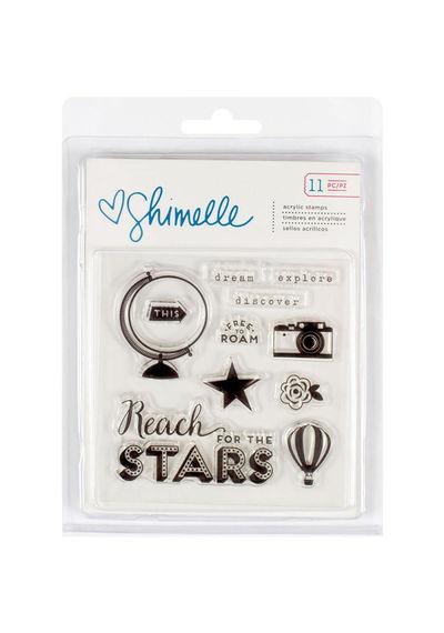 Shimelle Starshine Acrylic Stamps