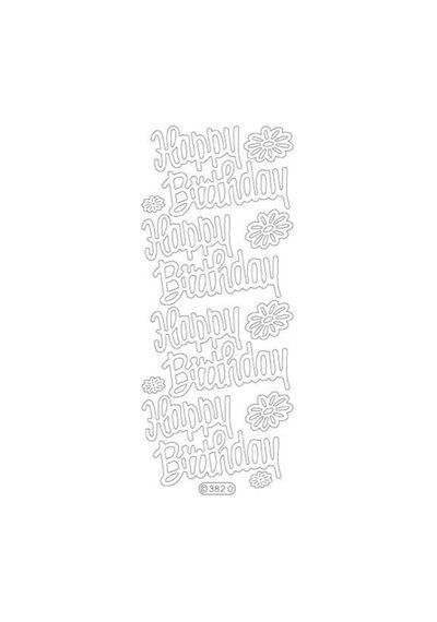 Happy Birthday - Deco Stickers