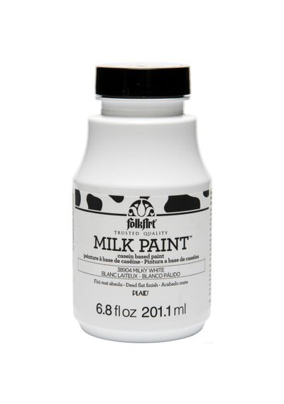 Milky White - FolkArt Milk Paint 6.8oz