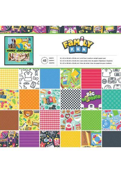 "Family Fun - Paper Pack 12""X12"""
