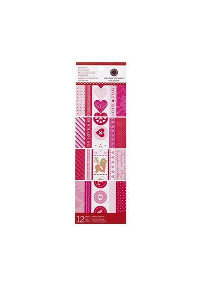 Key And Heart Adhesive Border Pad