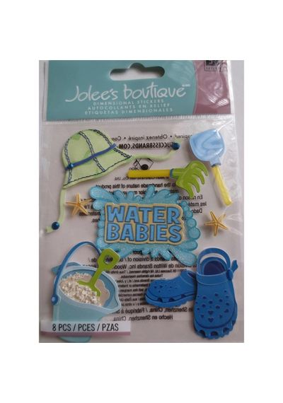 Water Babies Dimensional Stickers