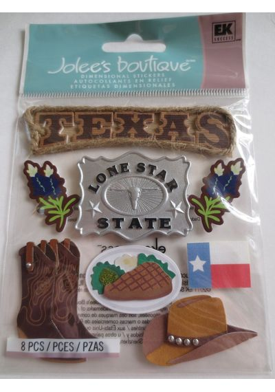TEXAS Dimensional Stickers
