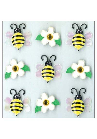 Bumble Bees Cabochons